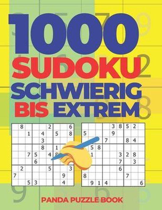 1000 Sudoku Schwierig Bis Extrem