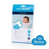 AeroSleep® SafeSleep hoeslaken - wieg - 83 x 50 cm - wit