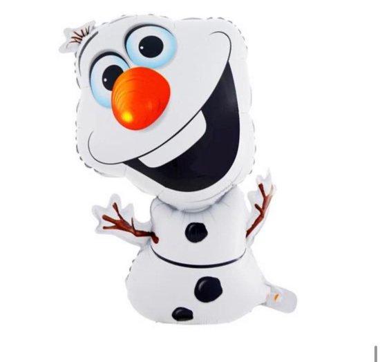 Frozen Olaf Ballon - Olaf - Frozen - Folieballon - 72 x 43 cm