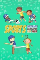 Sports Coloring book for Kids