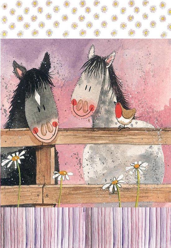 Alex Clark Theedoek Paarden