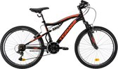 Devron Teranna F/S 24 INCH Mountainbike 18 Speed Zwart