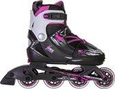 Fila X One Inlineskates - Maat 32-35 - Meisjes - zwart/roze/wit