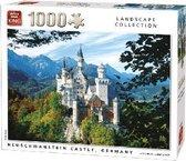King - Legpuzzel - 1000 stukjes - Neuschwanstein kasteel - Duitsland - Landscape Collection - Nieuw - Puzzels - Puzzel - puzzelen