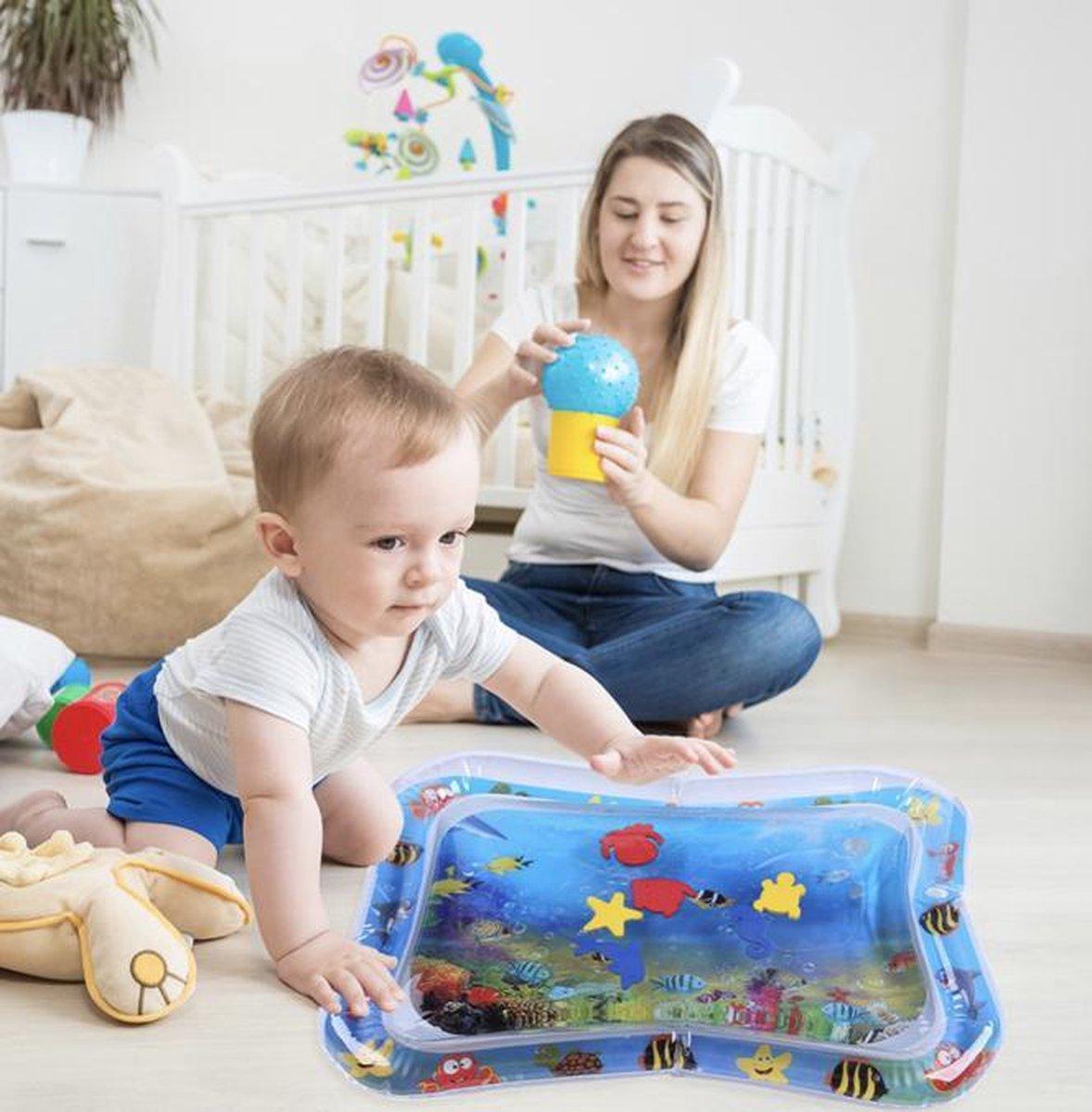 Baby waterspeelmat- opblaasbaar- leuke kraamcadeau- verjaardagscadeau- Speelkleed- kopen