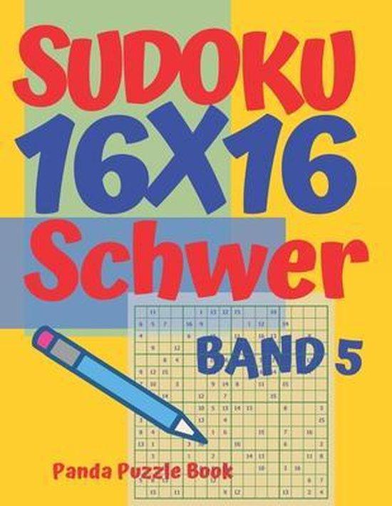 Sudoku 16x16 Schwer - Band 5