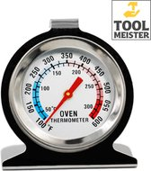 Tool Meister - Oventhermometer - Rookoven - BBQ - RVS - Anoloog