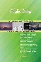 Public Data A Complete Guide - 2020 Edition