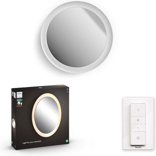 Philips Hue Adore badkamerspiegellamp - warm tot koelwit licht - wit