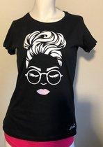 Getailleerd Normaal Dames T-shirt Maat M