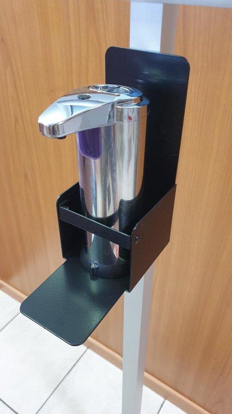 Desinfectie zuil | Desinfectie paal | Type: Economy | Automatische dispenser | Desinfectiezuil