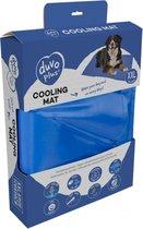 DUVO+ Cooling Mat Hondenkoelmat XXL - Houdt Uw Hond Koel Bij Warme Dagen 120x80cm - Blauw