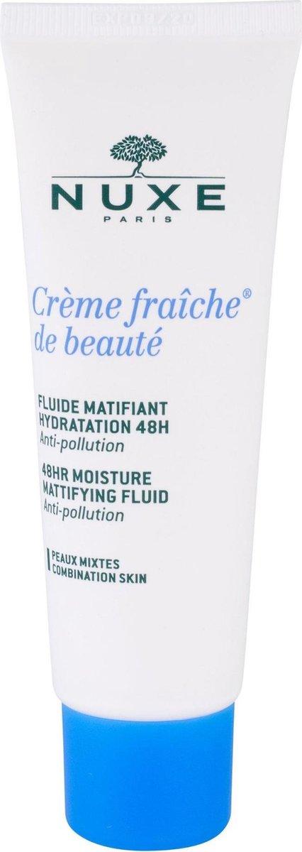 Nuxe Crème Fraîche de Beauté Fluide Matifiant Hydratation 48HR Gezichtsfluid 50 ml - Nuxe