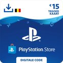 15 euro PlayStation Store tegoed - PSN Playstation Network Kaart (BE)