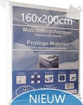 Matrasbeschermer Waterdicht 160x200cm (2persoon) - Wit