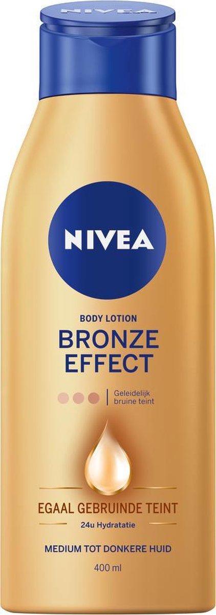 NIVEA Zelfbruiner Bronze Effect Body Lotion - Medium tot Donkere Huid - 400 ml