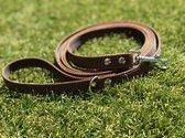 Hondenriem - Antislip Lijn - 10 Meter - Bruin - Training - Volglijn - Looplijn - Speurlijn - Puppy