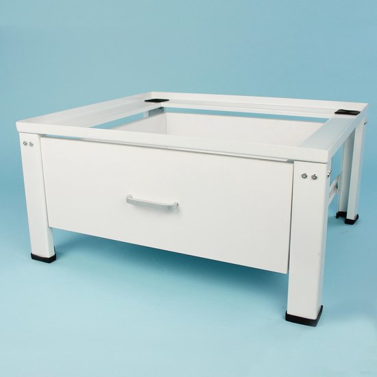 Wasmachine verhoger Dirk, met houten lade