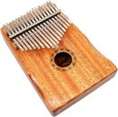 Kalimba Set - Duimpiano - Mahonie hout - 17 Lamellen - Cursusboek - Luxe opbergzak - Vingerbeschermers - Stickers - Stemhamer - Microvezeldoek