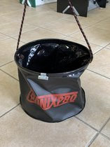 Tronixpro dry feet bucket | 10 Liter | Opvouwbare plastic emmer