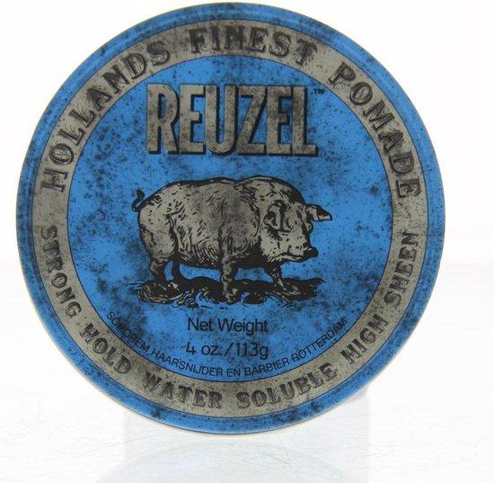 Reuzel Blue Strong Hold Pomade Haarwax - 113g