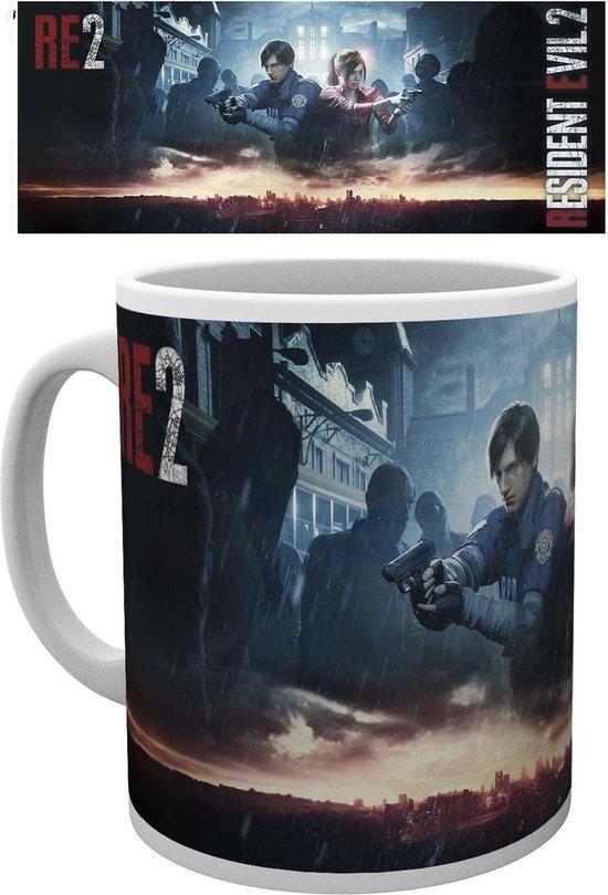 Resident Evil 2 City Key Art Mok