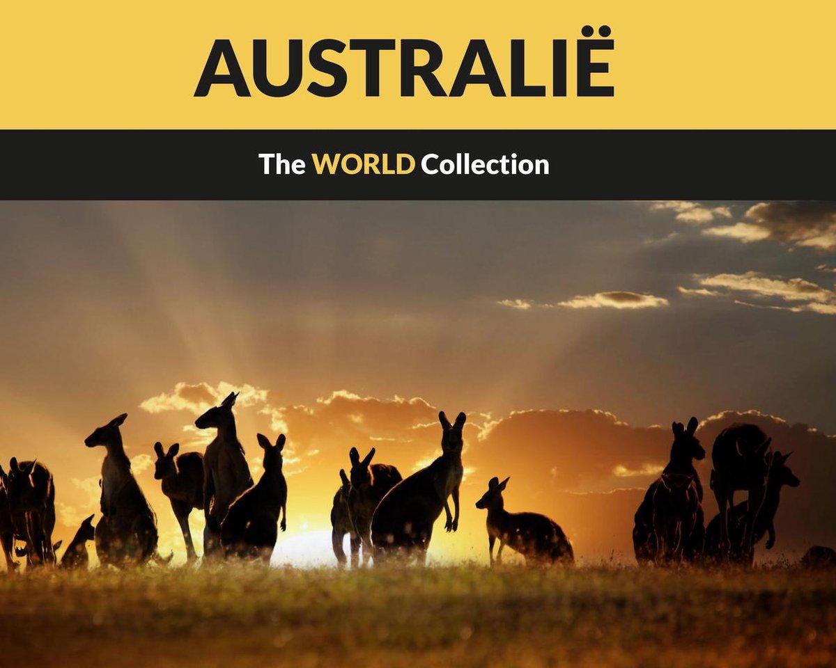 Prachtig boek over Australië - boordevol schitterende foto's - ondersteund door informatieve teksten