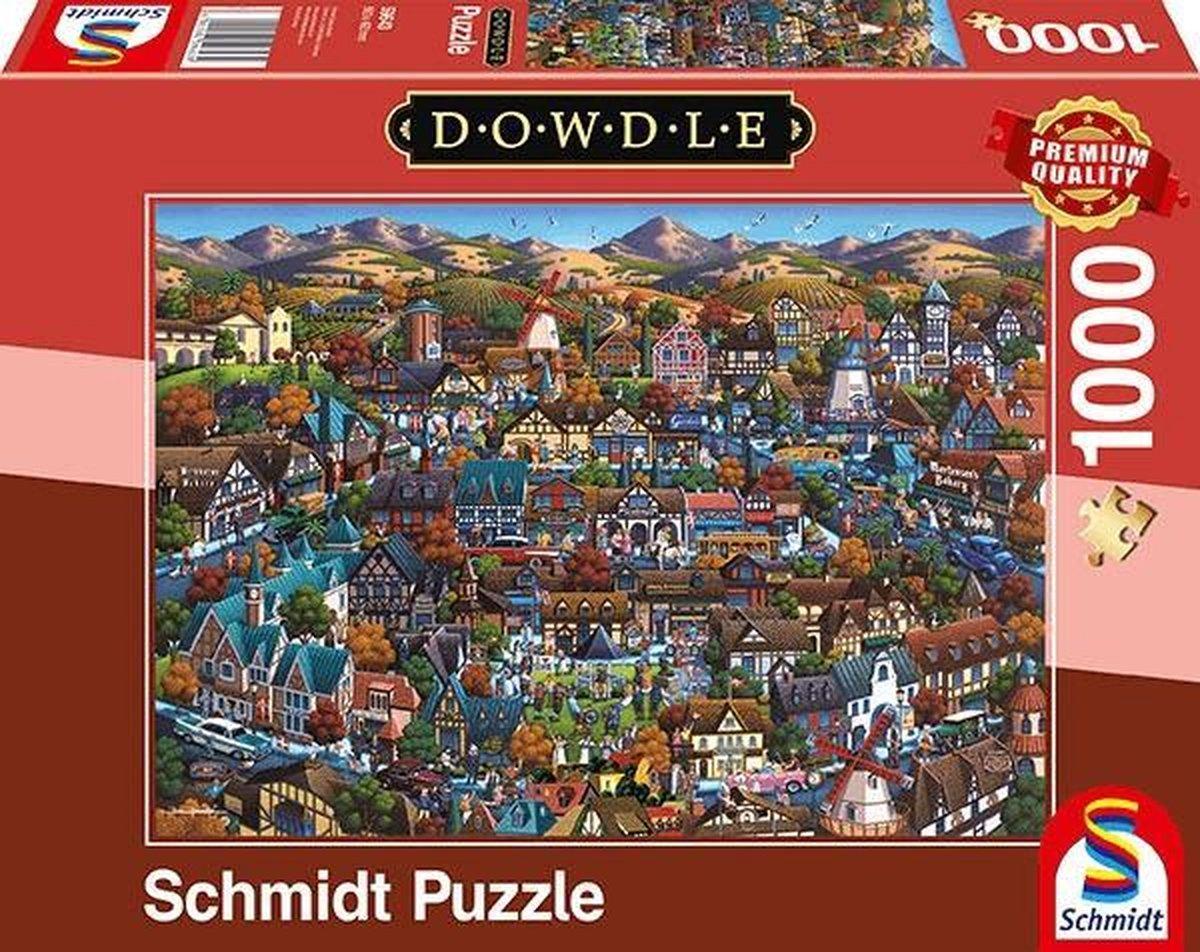 Solvang, 1000 stukjes Puzzel