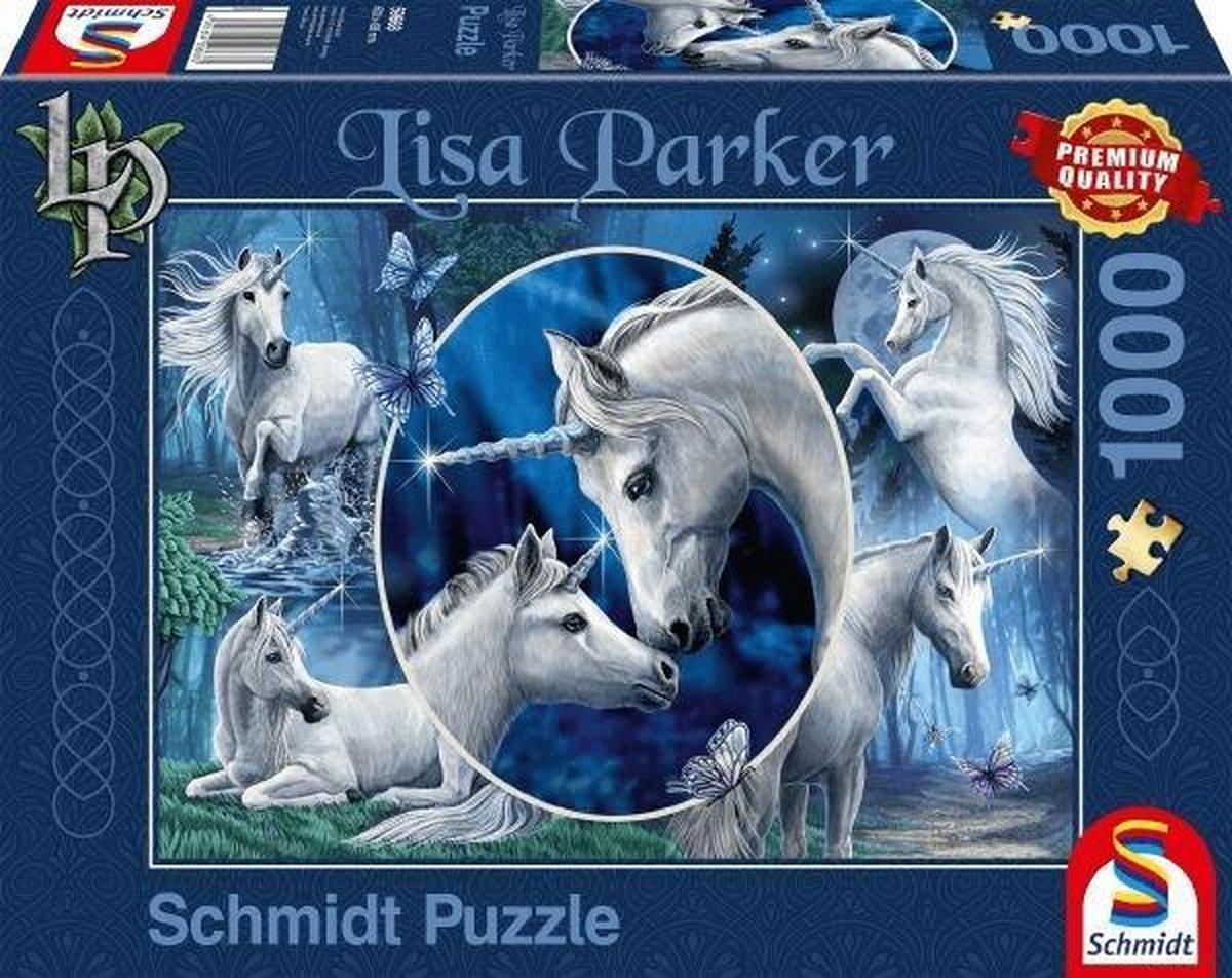 Charmante Eenhoorns, 1000 stukjes Puzzel