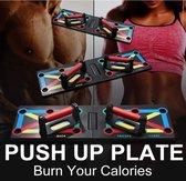 12 in 1 Push up bord / board | De Goedkoopste op bol.com | Professioneel - Effectief kracht opbouwen |GRATIS Workout Schema | Opdrukken | Thuis Sporten | Sporten voor Man / Vrouw Beginner / Gevorderde |Trainen | Rug - Borst  - Triceps - Schouders