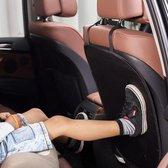 Goodlux Autostoel beschermer achterkant – Autostoelhoes – Voorstoelbeschermer – Kick Mat – Stoelbeschermer auto - Stoelhoes - Zwart