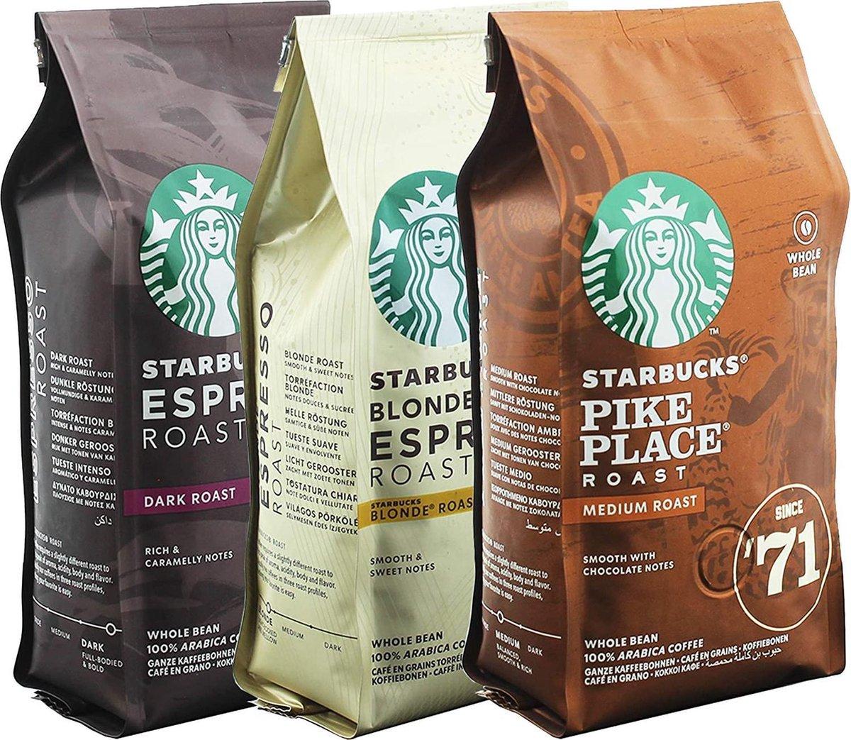 Starbucks Koffiebonen Proefpakket