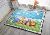 Groot Speelkleed Baby - Speelmat Kinderen - Babymat XL - Kindervloerkleed - Kraamcadeau - Speelkleed Kinderen - Dierenprint - Dieren - ECO - 0-4 Jaar - 150x200cm