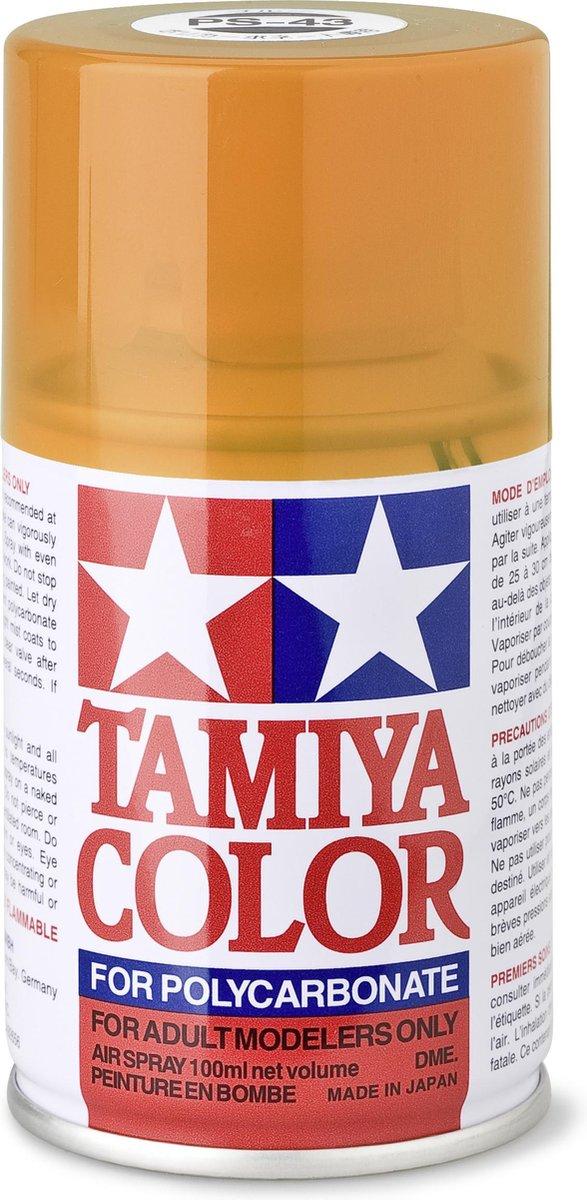 TAMIYA PS-43 Translucent oranje (spuitbus 100ml)