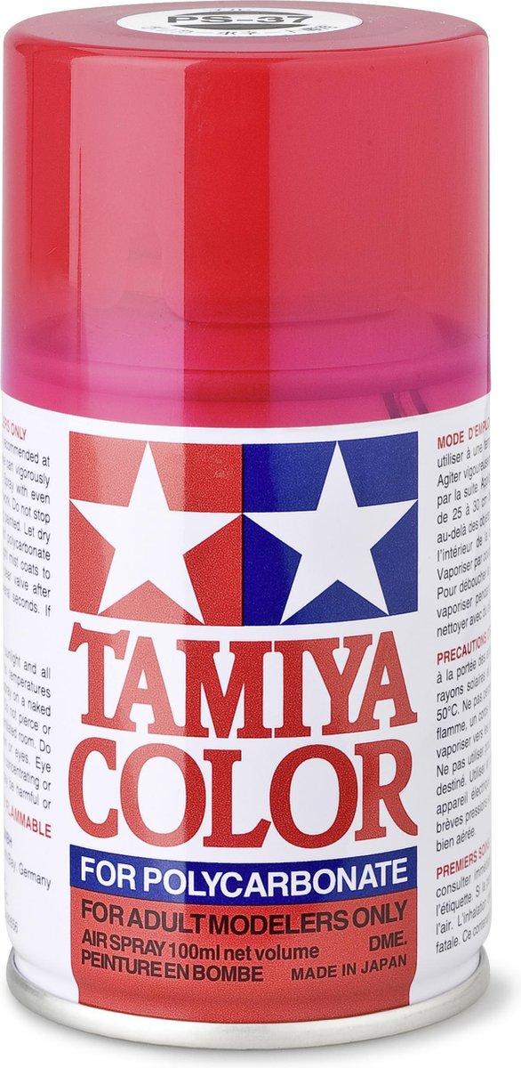 TAMIYA PS-37 Translucent Red (spuitbus 100ml)