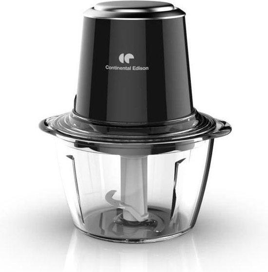 CONTINENTAL EDISON CEMH01 Mini Chopper glazen kom - zwart