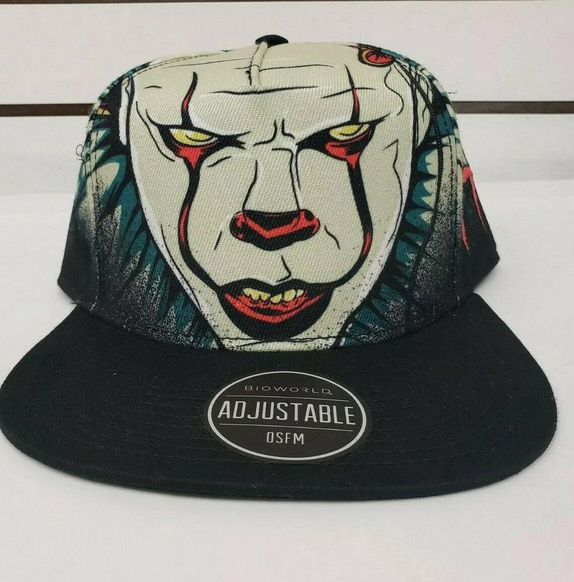 IT Pennywise Big Face Snapback Cap