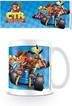 Crash Bandicoot Crash Team Racing Race Mok