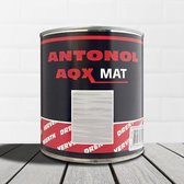 Drenth Antonol AQX Mat Ral 9004 Signaalzwart 1 liter