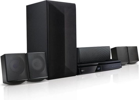 LG LHB625M Home Theater 5.1 - Blu-ray-speler - Bluetooth - DLNA - Zwart