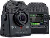 Zoom Q2n-4K kleuren LCD-scherm - CMOS-sensor 1 / 2.3 ?? 16 megapixel, F2.8-diafragma, 150 ° - 120 ° stereo X / Y-microfoon,