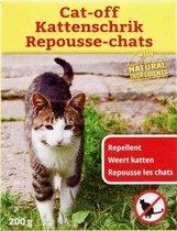 Kattenschrik Natuurlijk Afweermiddel Tegen Katten - 200 gram| Weert Katten | Kattenoverlast  | Anti Katten