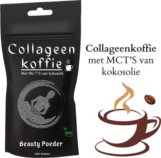 Collageen Koffie poeder  Met MCT