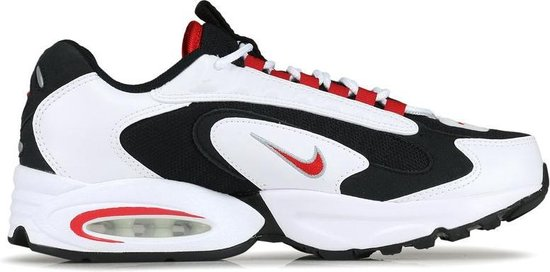 NIKE AIR MAX TRIAX (Whiteuniversity Red Black) CD2053105 maat 42,5
