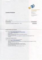 flexbase bakkerij jaarlicentie niveau 2-3-4