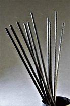 Geurstokjes 50st Zwart 20cm Navulling - Fiber