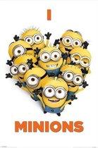 MINIONS - Poster 61X91 - I Love Minions