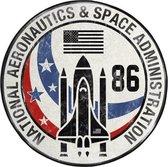 NASA - Microfiber mat - 80cm diameter - Space Shuttle