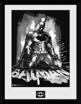 BATMAN COMIC - Collector Print 30X40 - Paint