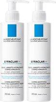 La Roche-Posay Effaclar H reinigingscreme - 2x200ml - Reinigt en zuivert